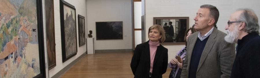 Sales participa en la presentación de la Obra del Trimestre del Museu de Belles Arts