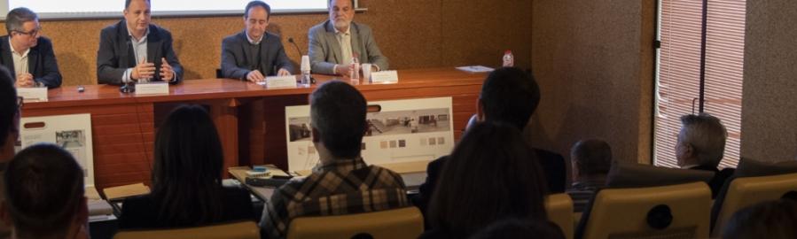 Diputación implica a los arquitectos de la provincia en su apuesta por la cerámica