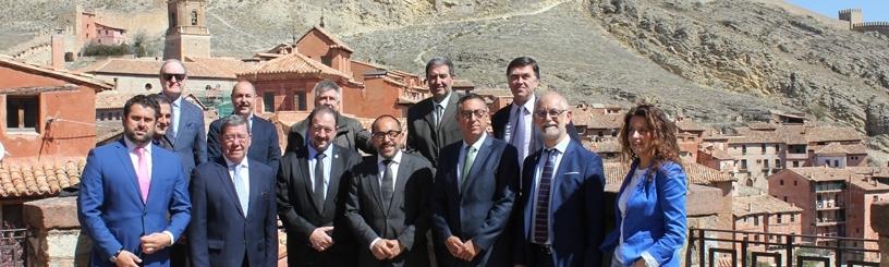 El Consorcio Camino del Cid celebra en Albarracín (Teruel) su Consejo Rector