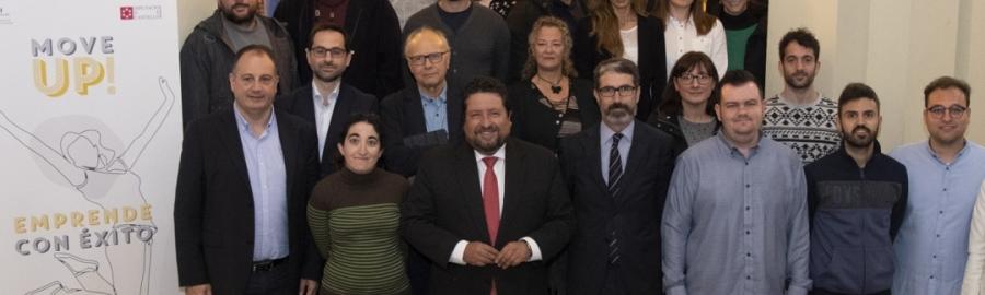 Diputación y el CEEI consolidan el Move UP! con el que ya se han implantado 72 empresas