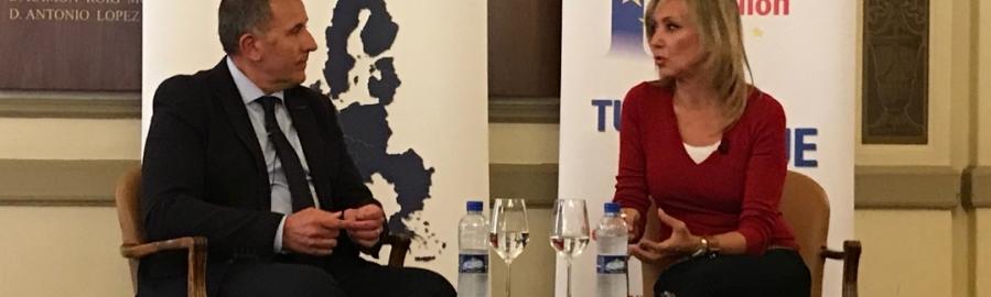 Diputación concluye el ciclo 'Diálogos por Europa'