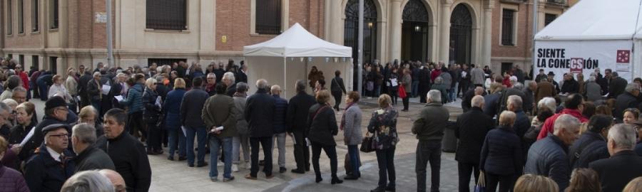Cientos de mayores castellonenses solicitan su plaza en el Castellón Sénior de la Diputación