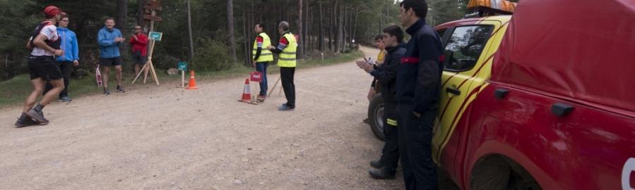 Diputació coordina un ample dispositiu de bombers i voluntaris de Protecció Civil