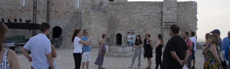 Diputació reforça la millora de les visites al Castell de Peníscola