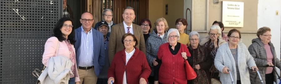 Diputación mejora la accesibilidad del Hogar de Jubilados de Viver