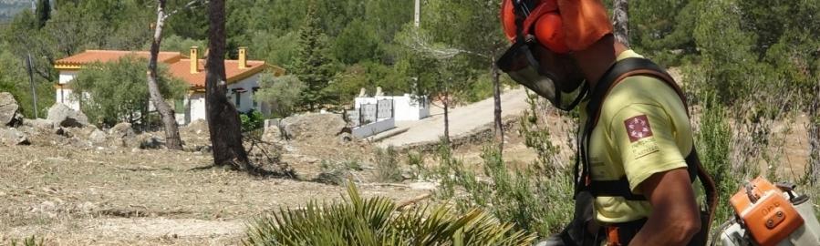 Diputación refuerza sus trabajos de prevención de incendios durante todo el año