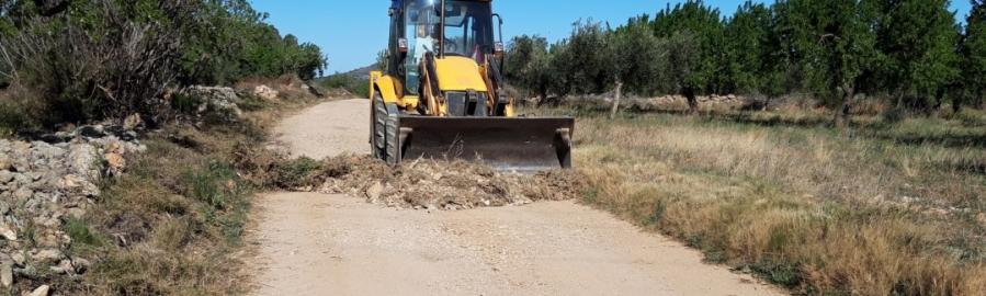 Diputación rehabilita caminos rurales en 64 municipios en su apuesta por el patrimonio natural