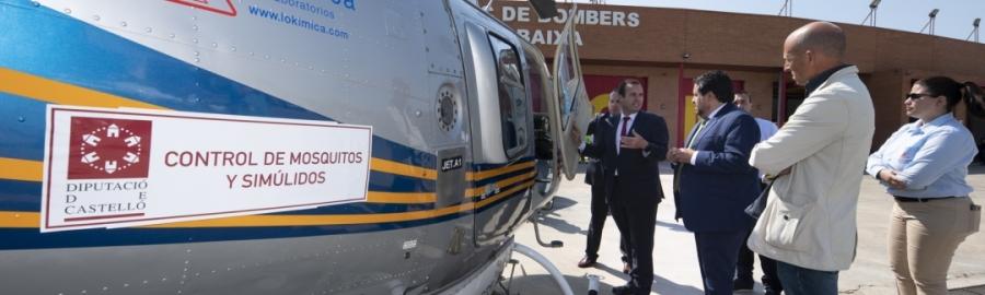 Diputación se posiciona como pionera en la lucha contra los mosquitos