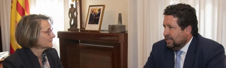 Moliner consolida l'aliança de la Diputació amb la UJI per a irradiar coneixement