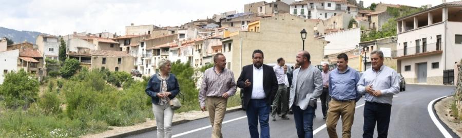 Diputación concluye una actuación histórica de 6,5 millones en carreteras