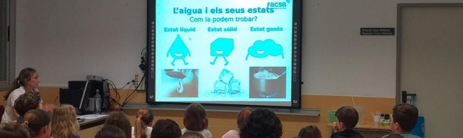 Diputació i FACSA eduquen els xiquets i xiquetes de la província en l'ús racional de l'aigua