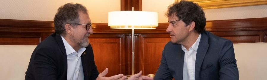 La Diputación coordinará su política turística con la Generalitat ara optimizar los resultados
