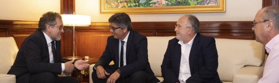 Diputació i Generalitat senten les bases per a millorar la qualitat de vida de Castelló