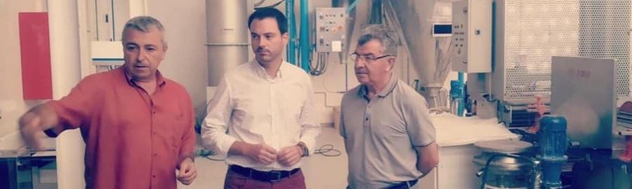 La Diputació de Castelló reafirma la seua aposta pel sector ceràmic i el seu compromís amb l'ITC