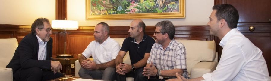 La Diputació i la Unió de Llauradors es coordinaran per a combatre la despoblació