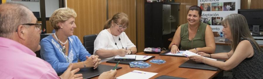 La Diputació analitza amb Patim plans per a previndre les addiccions en els municipis d'interior