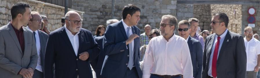 Martí destaca la Fira de Morella com a exemple per a generar riquesa i fer front a la despoblació