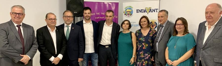 Martí assisteix a la inauguració del centre de desenvolupament infantil de Creixem Vinaròs