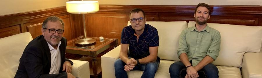 Martí aborda amb Aín solucions davant els problemes que pateixen els pobles per a gestionar ajudes