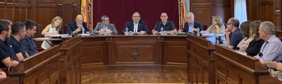 Martí reafirma el seu compromís per a reforçar la labor del Consorci Provincial de Bombers