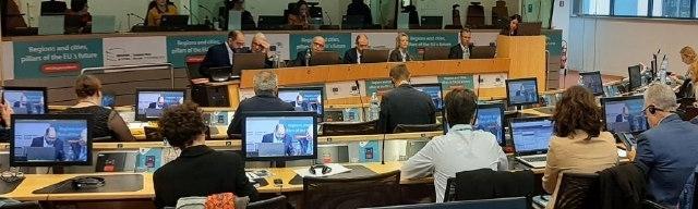 Pau Ferrando expone la estrategia de desarrollo sostenible de la Diputación de Castellón en Bruselas