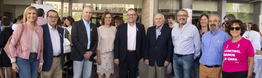 José Martí i Xaro Miralles participen en la jornada de portes obertes de l'Hospital Provincial