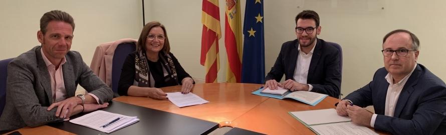 La Diputación avanza en transparencia y trabaja en la renovación del convenio con la Generalitat