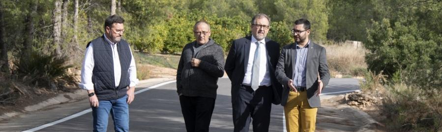 La Diputación de Castellón mejorará la seguridad de la carretera que une l'Alcora y Araia