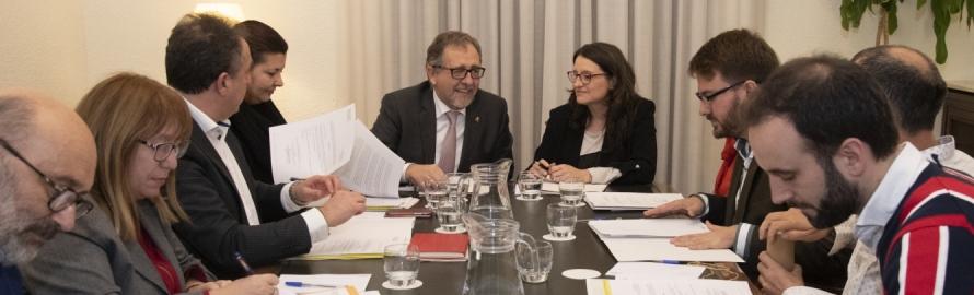 La Diputació i la Generalitat aniran de la mà per a finançar infraestructures socials a Castelló