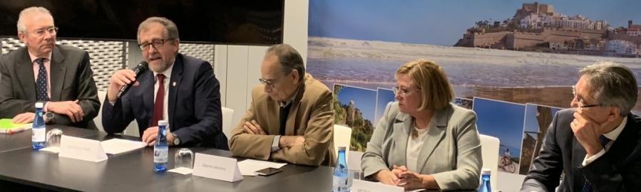 Martí destaca els llaços mediterranis de Castelló i Marsella i defensa la dualitat costa-interior de la província com a fortalesa turística