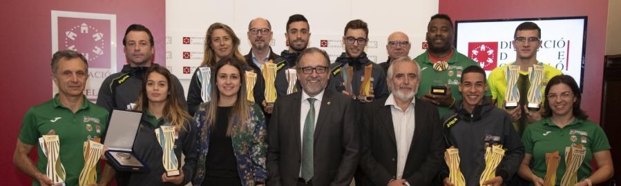 José Martí felicita el Playas de Castellón per un 2019 plagat d'èxits en el qual s'ha proclamat millor club d'Europa