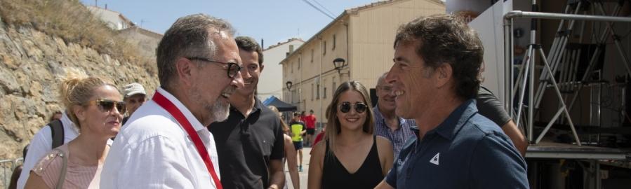 La Diputació fitxa a Pedro Delgado com a ambaixador de 'Castelló Destinació Cicloturista'