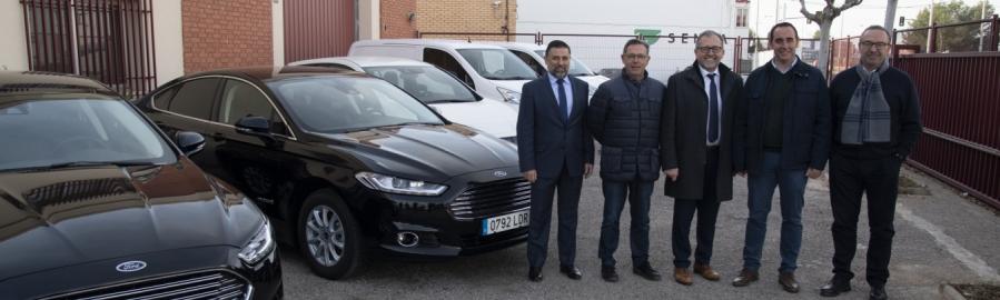 La Diputación de Castellón adquiere cinco vehículos sostenibles para el parque móvil