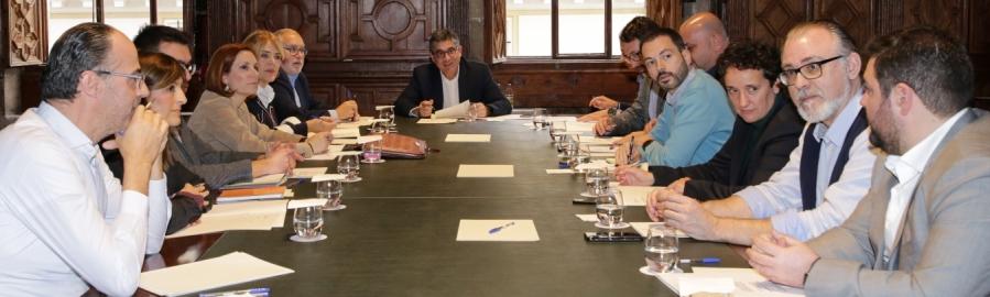 Huguet participa en la reunión de coordinación del Fondo de Cooperación para avanzar en la llegada de 11,2 millones de euros a Castellón