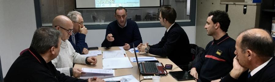 La Diputación ha destinado 376.000 euros para atender de forma urgente las emergencias por la borrasca Gloria