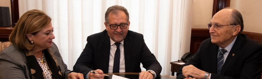 La Diputación firma un convenio con la Cámara de Comercio para colaborar con la organización de Qualicer