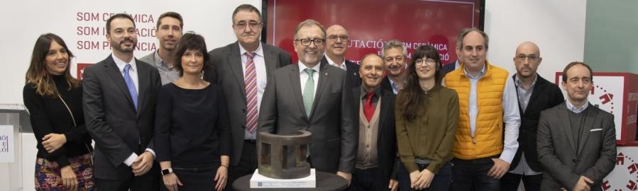 La Diputació premia Small Size per la seua aposta per la innovació en la producció ceràmica per a entorns urbans