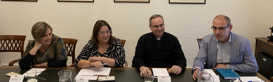 Diputación, Conselleria y Obispado dan impulso a la recuperación del santuario de Penyagolosa con el objetivo de redactar un proyecto a final de año