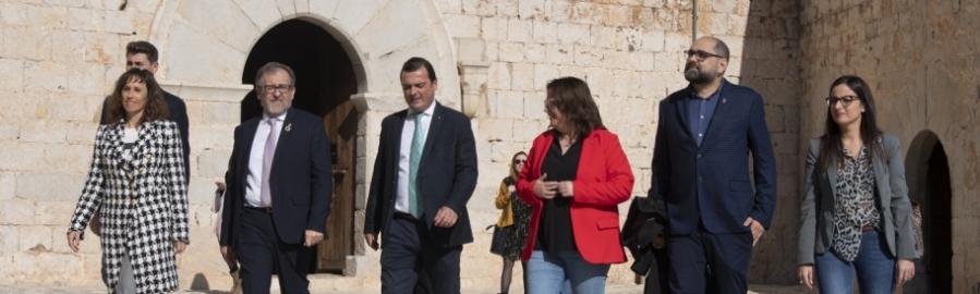 José Martí destaca que el Castell de Peníscola serà accessible quan en 2021 finalitzen les obres de rehabilitació
