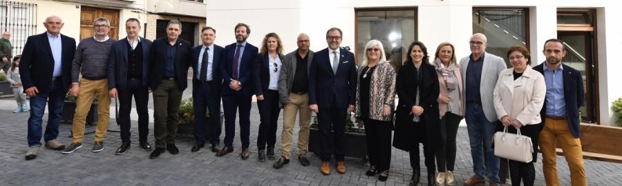 José Martí destaca el potencial turístic de Castellnovo amb el nou centre d'interpretació del Castell Palau Beatriu de Borja