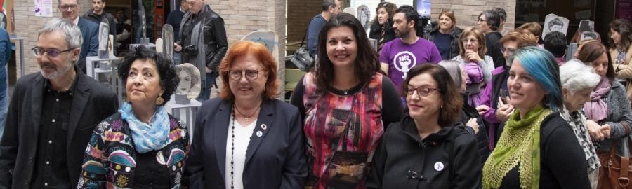 Patricia Puerta reivindica la reparación de la invisibilidad de las mujeres en la construcción de nuestra sociedad