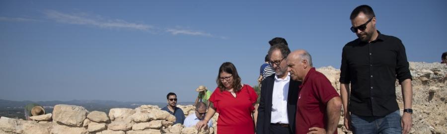 La Diputació invertirà 70.000 euros a 2020 per a realitzar 13 actuacions arqueològiques a la província de Castelló