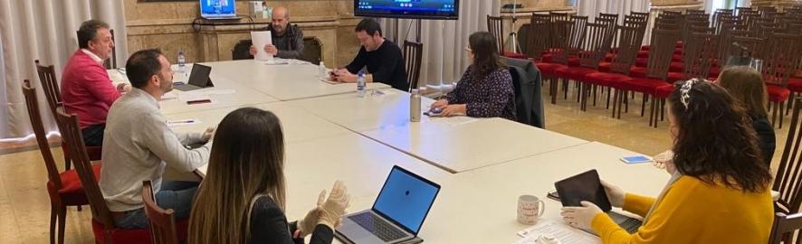 La Diputación suspende el pleno de marzo y reorganiza comisiones y junta de gobierno para realizarlas de manera telemática