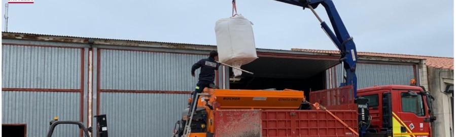 El Consorci de Bombers activa el seu dispositiu de nevades i alerta de fortes pluges a la província