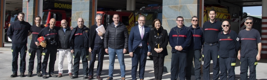 La Diputació realitzarà 400 tests ràpids a bombers, Protecció Civil i parc mòbil des d'aquesta setmana