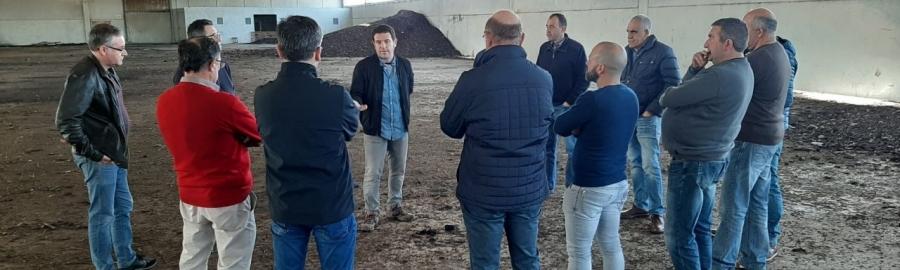 Ignasi Garcia defensa la integració de les plantes de purins en un model provincial d'economia circular