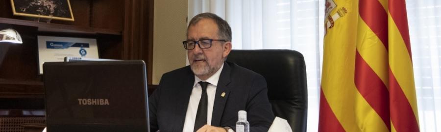 José Martí impulsa la unitat de tots els grups per a dissenyar un nou pressupost provincial que reforce als ajuntaments per a fer front a la crisi econòmica i social pel coronavirus