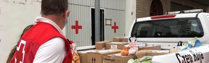El Pla Respon de Creu Roja finançat per la Diputació beneficia al maig a 132 persones vulnerables de la província