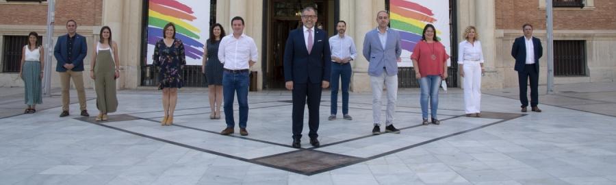 La Diputación de Castellón conmemora por primera vez de forma institucional el Orgullo LGTBI