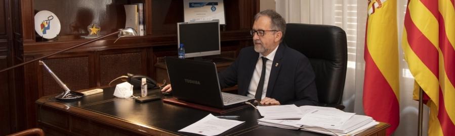 La Diputación ha impulsado 'el año de los ayuntamientos' con el mayor adelanto de tesorería a los municipios de la última década